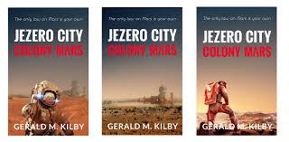 some cover ideas for the new book jezero city