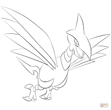 skarmory coloring page free printable coloring pages