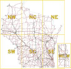 wisconsin highways maps state trunk highway overview map