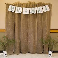 wedding backdrop burlap 13 best burlap ideas images on napkin rings birthdays