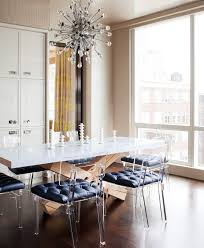 sparkling lucite dining chairs with candlesticks transparent new york lucite dining chairs with metal standard height tables room contemporary and table centerpiece tufted
