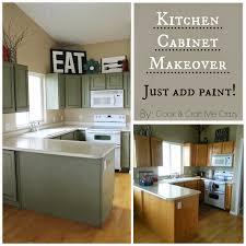 Old Kitchen Cabinet Makeover Cook And Craft Me Crazy Kitchen Cabinet Makeover
