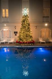 christmas tree lighting at the maison dupuy maison dupuy hotel