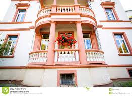 european house with balcony royalty free stock photo image 13755545