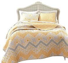 Yellow Comforter Twin Yellow And Gray Quilts U2013 Boltonphoenixtheatre Com