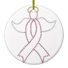 breast cancer ornaments zazzle ca