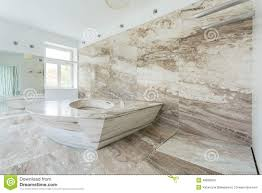 Marble Tile Bathroom by Luxury Bathroom With Marble Tiles Stock Photo Image 48830560