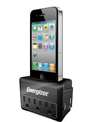 amazon com energizer spmfi1 charging station with 3 outlet