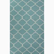 Ivory Area Rug 8x10 Handmade Moroccan Pattern Blue Ivory Wool Area Rug 8x10 By