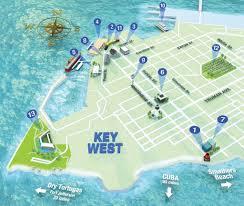 Map Key West Getting Around Key West Key West Florida Weekly