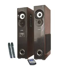 home theater system snapdeal buy intex it 10500 suf plus tower speakers black and brown