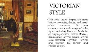 Victorian Design Style Archint Victorian Period Interior Design Furniture Design
