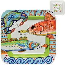 painted platter nautical platters wayfair