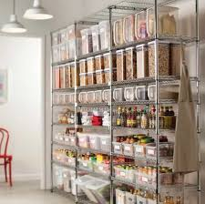 kitchen with stainless steel pantry racks useful kitchen pantry