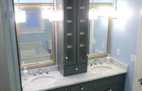 Built In Bathroom Cabinets Built In Vanity Built In Vanity Custom Bathroom Cabinets Cabinetry