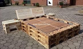 100 bed frame from wood pallets prestige design pallet beds