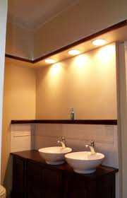 Recessed Lighting For Bathrooms by Gorgeous Bathroom Sink Soffit Lighting Modern Design Ideas