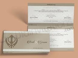 Pakistani Wedding Cards Design Tent Fold Asian Wedding Invitation Card Grey Qtf13