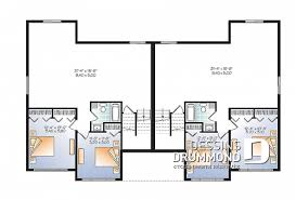 plan chambre modèle de plain pied une 1 chambre plans dessins drummond