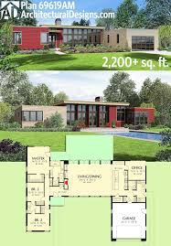 modern houses plans best 25 one level homes ideas on one level house