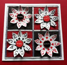 new tricks up your sleeve old playing card crafts to fall in love