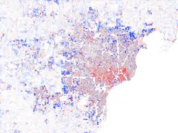 Map Of Dallas Suburbs by Growth Rings U2013 Maps Of U S Population Change 2000 2010