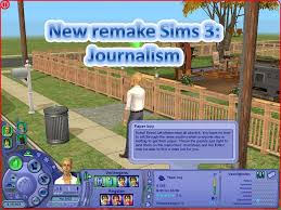 Desk Job Game by Mod The Sims New Remake Sims 3 Journalism