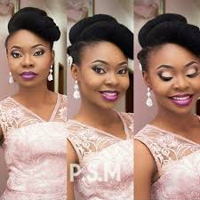 nigeria wedding hair style gorgeous updo styles for natural hair brides nigerian bride