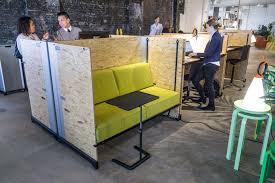 garage office garage office concept arises in nyc storefront pop up