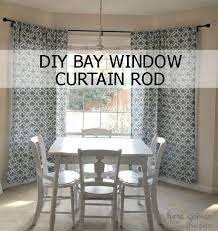 how to decorate a rental bold curtains and a diy bay window
