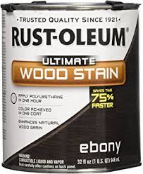 Interior Wood Stain Colors Amazon Com Rust Oleum 260154 Ultimate Wood Stain Quart Kona