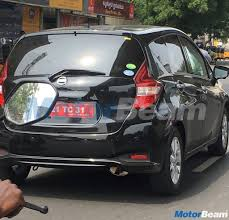 nissan note interior trunk nissan note india testing begins motorbeam com