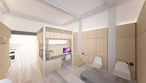 micro home design super tiny apartment of 18 square meters tiny homes inhabitat green design innovation architecture
