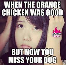 Meme Chinese - i miss my dog ghetto red hot