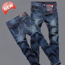 Light Colored Jeans Ripped Jeans For Men Light Blue Color Robin Jeans Men Size 42 40