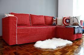 sofa red sleeper sofa formidable sleeper sofa in red u201a compelling