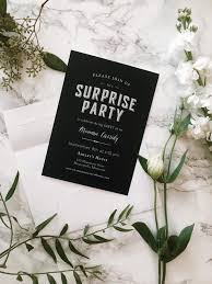30th surprise party invitations throwing a party on a budget blonde collective a lifestyle