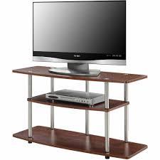 convenience concepts designs2go no tools 3 tier wide tv stand convenience concepts designs2go no tools 3 tier wide tv stand multiple colors walmart com