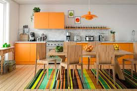 white kitchen cabinets orange walls 20 orange kitchen ideas photos home stratosphere