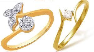 gold ring design beautiful 22k regular use light weight gold rings designs yt