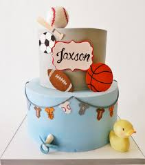 sports theme baby shower sports themed baby shower cake sylvia castaneda flickr