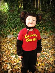 curious george for a family of three costume inspiration