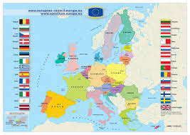 Large Map Of The World Large Map Of European Union 2013 Europe Mapsland Maps Of