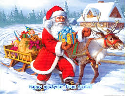 fashion glamour world happy new year merry christmas greeting