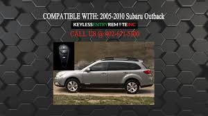 how to replace subaru outback key fob battery 2005 2006 2007 2008