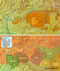 Map Of Grand Canyon File Grand Canyon Indians Png Wikipedia
