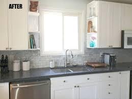 brick tile backsplash kitchen white brick kitchen tiles arminbachmann