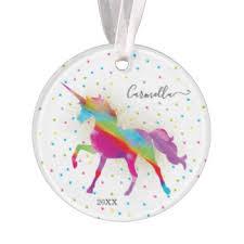 rainbow ornaments keepsake ornaments zazzle