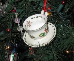 tea cup tree ornaments rainforest islands ferry