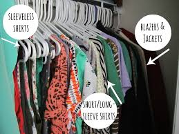 an organized closet how to
